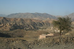 Khyber Pass in Pakistan Stock Photography