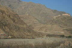 Khyber Pass in Pakistan Royalty Free Stock Photos