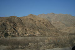 Khyber Pass in Pakistan Royalty Free Stock Photo