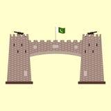 Khyber passerande i Pakistan Arkivfoton