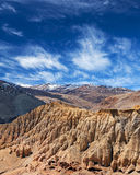 Khyunglun caves in the Garuda Valley, Tibet Royalty Free Stock Image