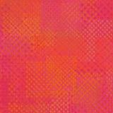 Kiść graffiti abstrakcjonistyczni elementy w czerwieni różowią pomarańcze Zdjęcie Stock
