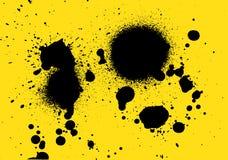 Kiści farby vecter dla projekta i liczby kiści farby tła Fotografia Royalty Free