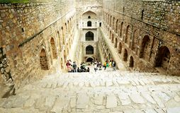 Ki Baoli, New Delhi d'Agrasen Photographie stock