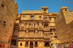 Ki Haveli di Patwon in Jaisalmer fotografia stock