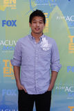 Ki Hong Lee arriving at the 2011 Teen Choice Awards Stock Images