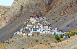 Ki monastery Royalty Free Stock Photos