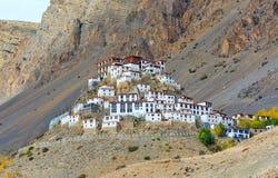 Ki monastery Royalty Free Stock Photos