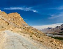 Ki monastery. Spiti Valley, India Stock Photo