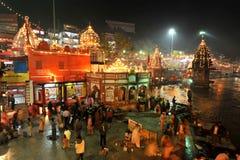 Ki Pairi de Har, Haridwar Foto de Stock Royalty Free