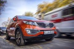 Kia-auto stock fotografie