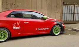 Kia-Auto Lizenzfreies Stockbild