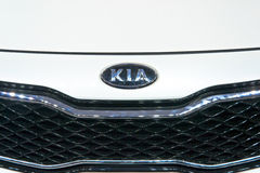 KIA Auto logo Stock Photo