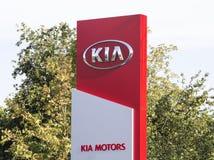 Kia-Automobil Stockfotografie