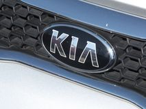 Kia-autosymbool royalty-vrije stock foto's