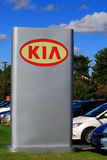 KIA Car Dealership Sign Royalty-vrije Stock Foto