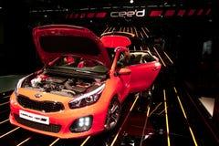 KIA cee'd at the IAA Cars Stock Photography