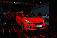 Free KIA Ceed GT Line - World Premiere. Stock Images - 59966784