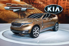 Kia at the Chicago Auto Show Royalty Free Stock Image