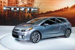 Kia at the Chicago Auto Show Stock Image