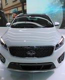 2015 KIA at the Detroit Auto Show royalty free stock photography