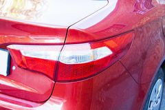 KIA elantra back light Stock Images