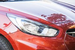 KIA elantra headlight Royalty Free Stock Image