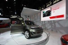 KIA exposition at Chicago auto show 2011. KIA Chicago auto show 2011 Stock Photo