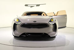 KIA GT front view Stock Images