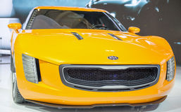 Kia GT4 Stinger in the CIAS Stock Photography