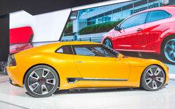 Kia GT4 Stinger in the CIAS Royalty Free Stock Photos