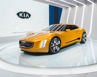 Kia GT4 Stinger Concept Stock Image