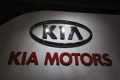 KIA Logo Sign Royalty Free Stock Photos