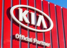 KIA Motors dealership logo Stock Images