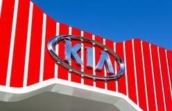 KIA Motors dealership logo Stock Photography