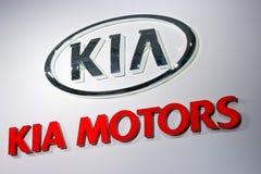 KIA Motors logo Royalty Free Stock Photo