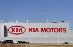 Kia Motors Plant Stock Photo