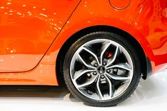 Kia Motors werd opgericht in 1957 en is second-largest automobiele fabrikant van Zuid-Korea royalty-vrije stock foto's