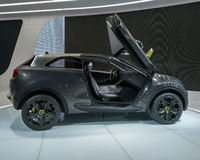 Kia Niro Concept 2014 Royaltyfria Foton
