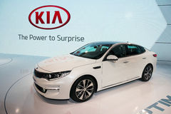 Kia Optima Royalty Free Stock Photo