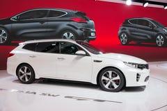 2016 Kia Optima Sportswagon-auto Royalty-vrije Stock Afbeelding