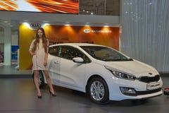 KIA Pro_Ceed car model on display Royalty Free Stock Photo