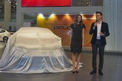 KIA Pro_Ceed car model presentation Stock Photography
