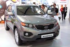 KIA Sorento. KIEV - SEPTEMBER 10: KIA Sorento at yearly automotive-show Capital auto show 2011. September 10, 2011 in Kiev, Ukraine Stock Photos