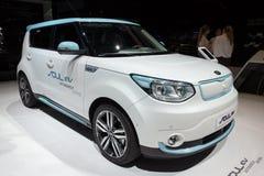Kia Soul EV autonomous car Royalty Free Stock Images