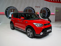 Kia Soul Geneva 2014 Royalty Free Stock Photo