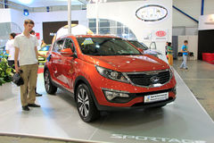 KIA Sportage Royalty Free Stock Images