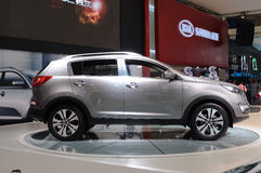 Kia Sportage R suv Stock Photography
