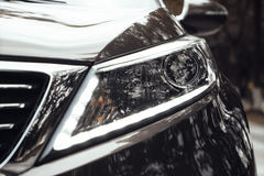Kia SportageR Headlight Stock Photography