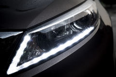 Kia SportageR Headlight Royalty Free Stock Photography